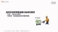 增强说服力的要素6成功案例_网络营销专家网络营销咨询顾问谢松杰