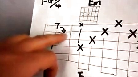 七星吉他入门教学视频第七课(下)丁香花教学视频