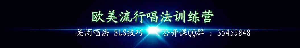 林老师流行声乐课堂 banner