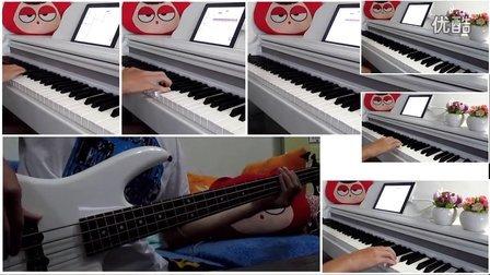 【键盘大作战+Bass】Beyond《光辉岁月》