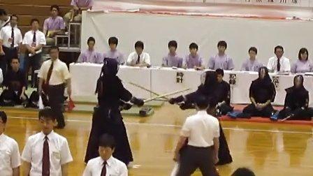 25関東高校剣道大会 決勝1 高輪対鎌本庄第一 先鋒次鋒