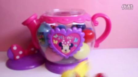 米妮下午茶时间设置出奇蛋粉红猪小妹米妮米奇蜘蛛侠韦沃斯