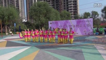 2015年8月29号恒大帝景秧歌比赛
