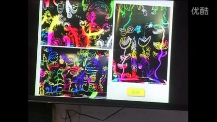 人美版二年级美术下册《吃虫草》省级优课视频,新疆,全国一师一优课获奖视频