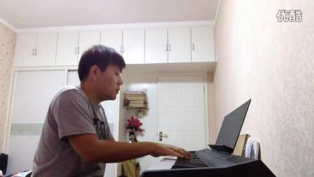 《牡丹江》电钢琴演奏版