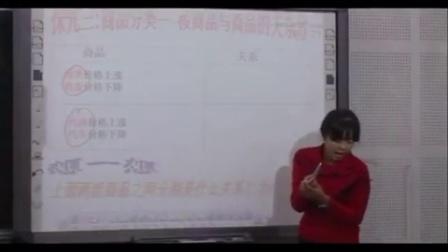第五屆電子白板大賽《價格變動的影響》(人教版政治高一,北京市順義區楊鎮第一中學:高紅梅)