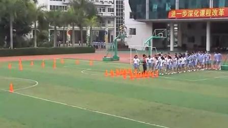 《靈敏性、協調性結合快速跑練習》教學課例(九年級體育,海濱中學:李天福)