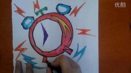 卡通畫網絡視頻課程根李老師學畫畫