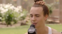 MØ Coachella Interview- Making 'Lean On' With Diplo & 'Beg For It' With Iggy Aza