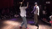 YUU (THE BEATDOWN BROTHERS) vs K@TTSU (Ziel) BEST8  DANCE@LIVE 2016 HOUSE KANTO