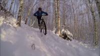 視頻: 冬日芬蘭山地車AM越野