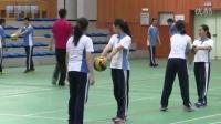 深圳2015優質課《排球正面雙手墊球》華東師大版體育八年級,紅嶺中學:林建嵩