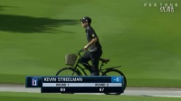 視頻: Kevin Streelman rides bike after second-round 67 at OHL ClassicPGA TOUR