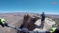 視頻: 60_自行車大神在猶他莫阿布_沿著懸崖的邊沿騎行_看得腿軟