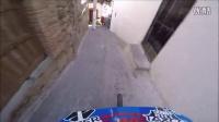 極限單車速降Yoann Barelli 大神帶你看 2016塔斯科城市速降賽第一人稱視角